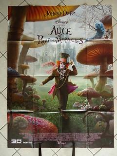 Affiche Alice au pays des Merveilles / Poster Alice in Wonderland
