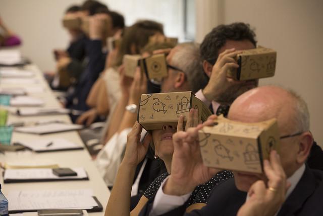 La realidad virtual aplicada a la educación
