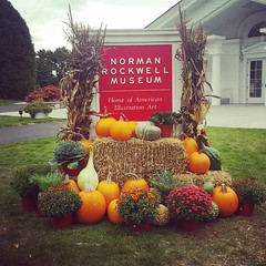Autumn at the Norman Rockwell Museum in Stockbridge MA.