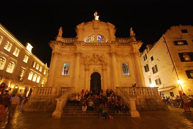 The Church of St. Blaise, Dubrovnik, Dalmatia, Croatia