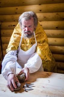 Освящение храма в Кремле 55