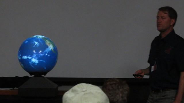 MVI_0510 SBMNH Docent training Magic Planet El Nino water cycle