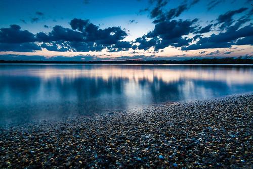 sunset lake illinois unitedstates mchenry mccullomlake