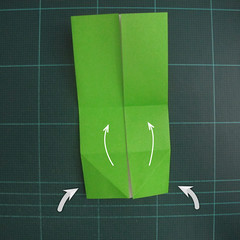 การพับกระดาษเป็นรูปแรด (Origami Rhino) 005