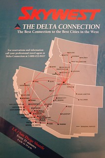 SkyWest route map, March/April 1992 | SkyWest Airlines route ... on american route map, airtran airlines route map, pacific wings route map, air macau route map, national airlines route map, delta air lines route map, jetblue airlines route map, delta international route map, frontier airlines route map, key lime air route map, expressjet route map, atlas air route map, volaris route map, independence air route map, trans states airlines route map, island air route map, tap air portugal route map, luxair route map, united route map,