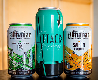 Beers from Almanac and Modern Times | by fourbrewers