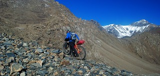 Final push to the Jiptik pass | by Pikes On Bikes