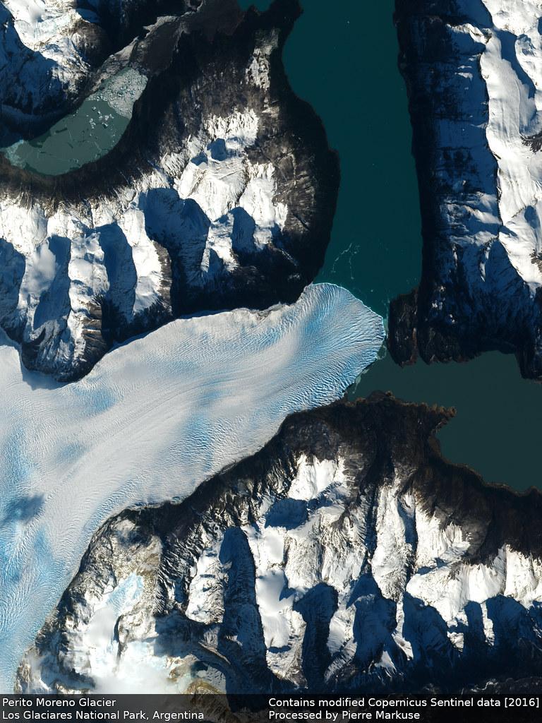 Earth from Space: Perito Moreno Glacier, Argentina