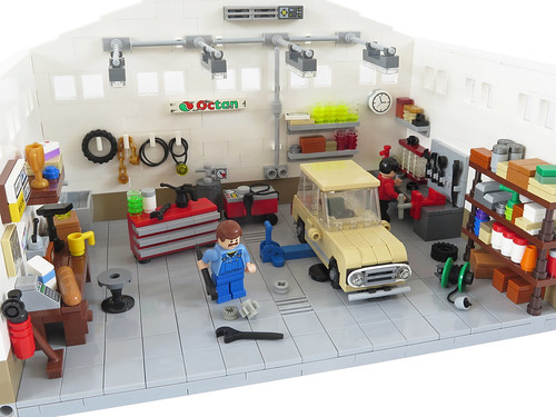 le garage | by brickbink