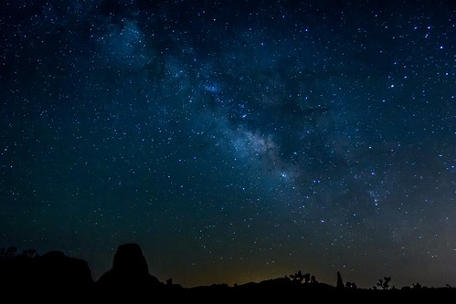 Milky Way @ Joshua Tree National Park | by andrin0