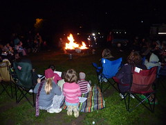 Girl Guides Centenary Year Bonfire 2010