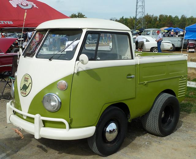 Shortened Old VW Pickup Truck