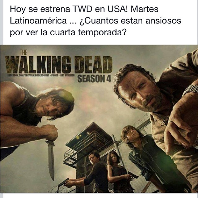 The Walking Dead. #thewalkingdead #twd #zombie #caracas #v ...
