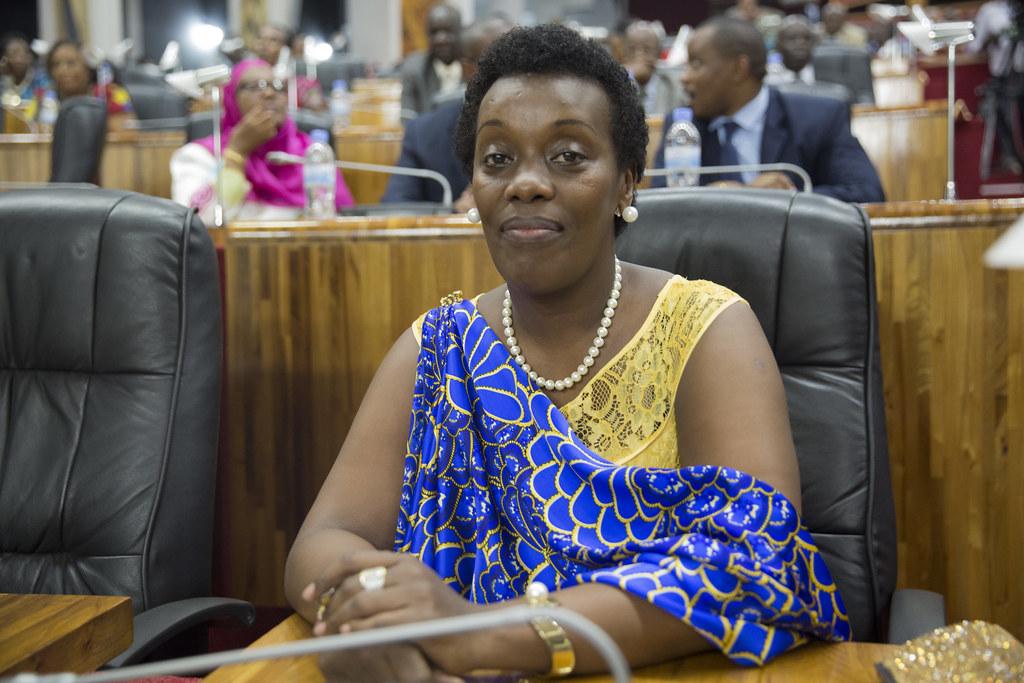 Minister of Gender and Family Promotion, Hon. Diane Gashum… | Flickr