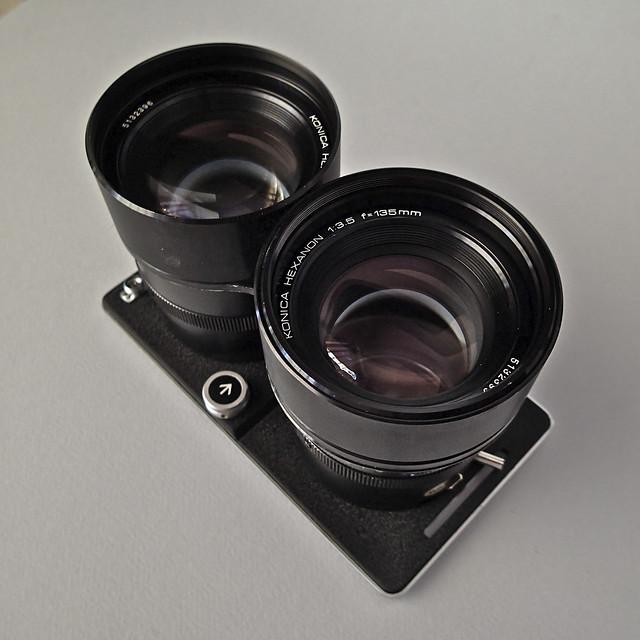 Koni-Omegaflex 135mm lensboard (s/n 5132396 + 5132399)