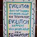La evolución no ocurre cuando la gente adopta nuevas tecnologías sino cuando adopta nuevos comportamientos