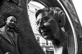 Agatha Christie in Metal | by Bart Heird