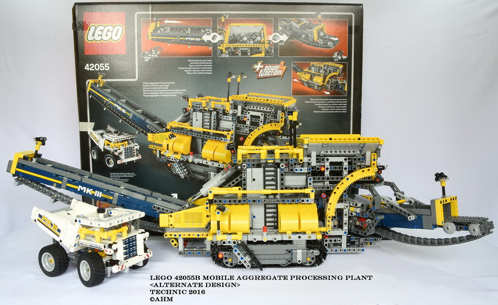 Lego 42055b Mobile Aggregate Processing Plant Lego 42055b Flickr