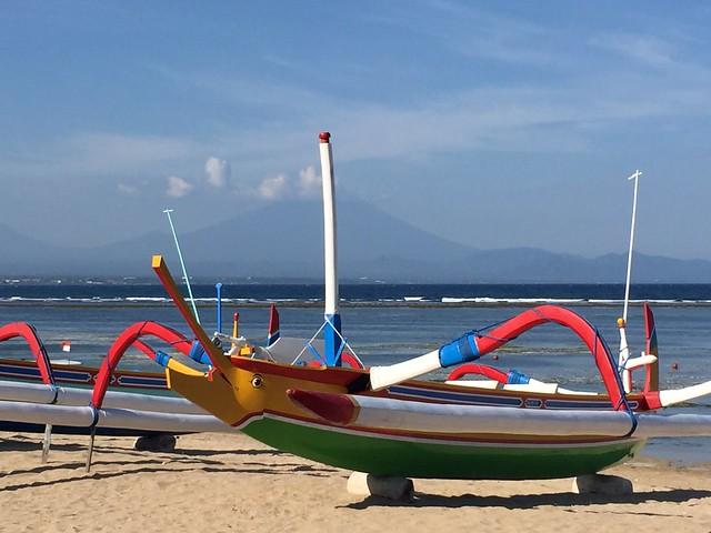 Sanur Gunung agung view (Bali, Indonesia 2016)