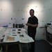 Eric Rewitzer from # fish Studios finishing his beautiful Trace monotypes