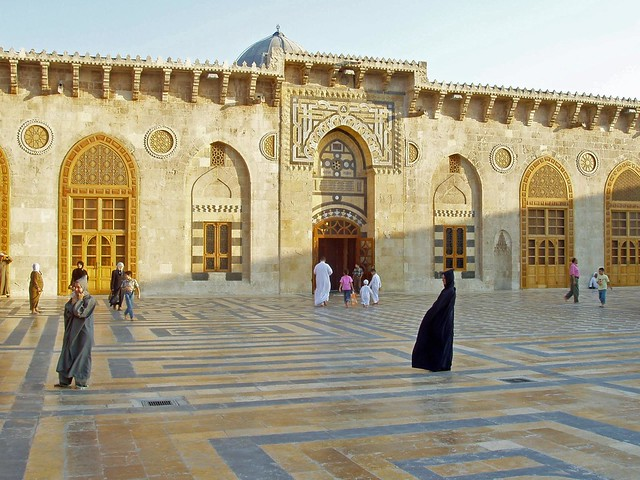 Mezquita de Alepo (Siria) antes de la guerra