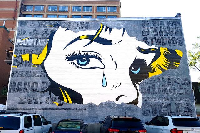 D*Face - Mural Festival, Montreal