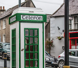 OLD P&T TELEFON KIOSK [PHOTOGRAPHED IN ENNISKERRY ALMOST TEN YEARS AGO]-121236