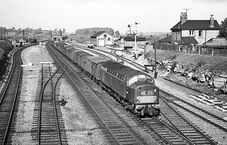 D3XX Little Bytham. 4E01 01:59 Millerhill - Kings X Goods 1963