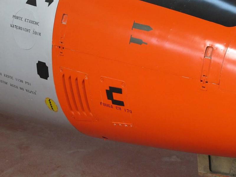 Fouga Magister C. M. 170 4