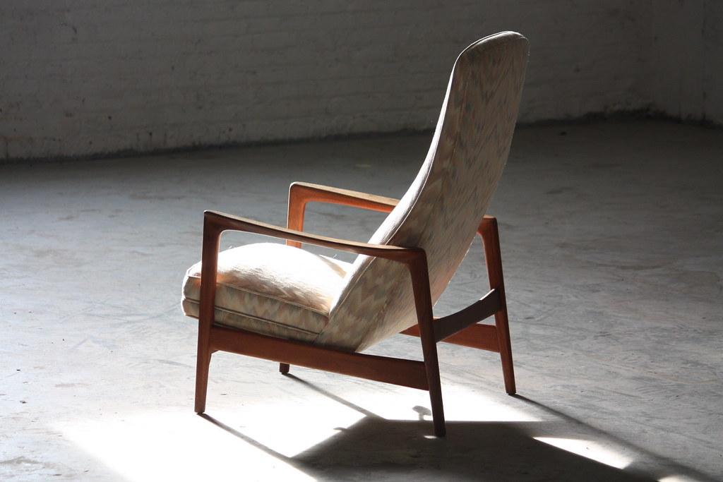 Terrific Flattering Folke Ohlsson Danish Mid Century Modern Teak Short Links Chair Design For Home Short Linksinfo