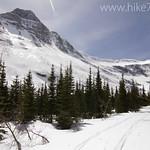 Hike to Bullhead Lake in the snow