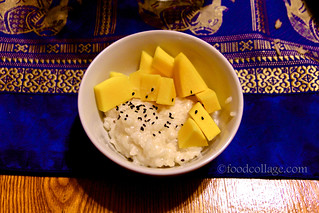 Mango Sticky Rice at Chop Wok and Talk Cooking Class | by claramichelle
