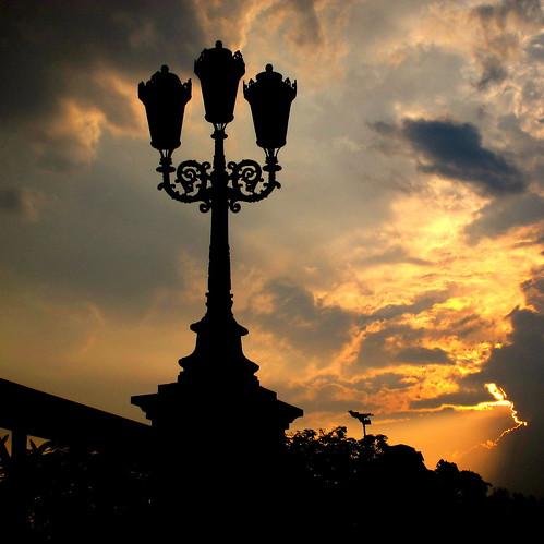 malaysia ipoh peterch51 evening sunset thunderstorm bridge square squareformat eveninglight light flickrtravelaward explored silhouette flickraward 5photosaday inexplore explore
