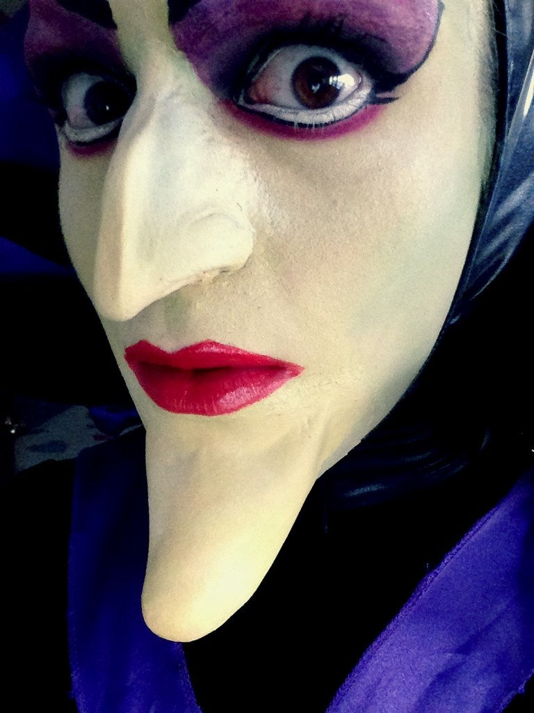 Maleficent Makeup Close Up I Know The Edges Are Not Perfec