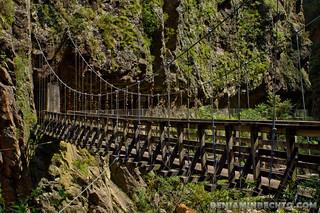 Bridge to the other Mountain in Karangahake Gorge | by Benjamin Beck