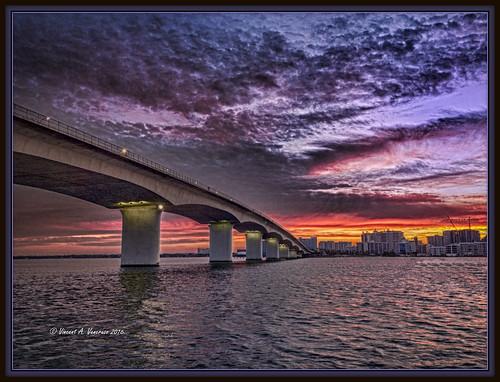 bridge hdr hdraddicted sarasota sunrise ringling hdrpro greatphotographers ngc