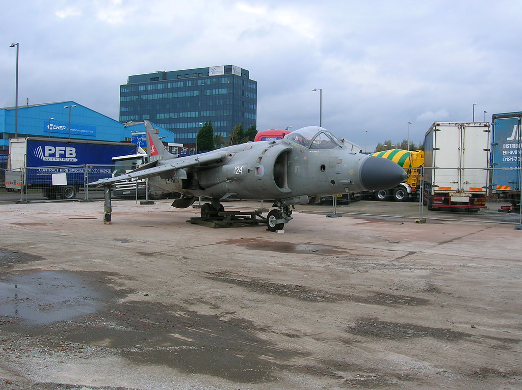 Keltruck's part exchanged Royal Navy Sea Harrier