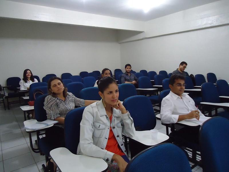 Abertura do Curso Direito Ambiental - Teoria e Prática com a Profª Sarah Carneiro.