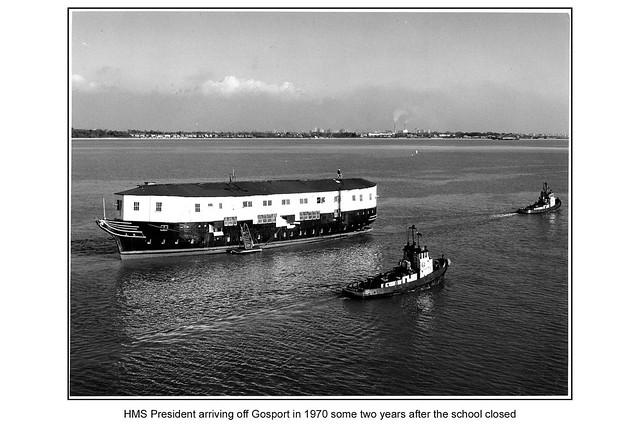 TS Mercury - HMS Gannet/President