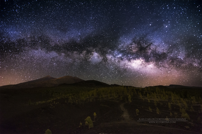 Al sur del Teide