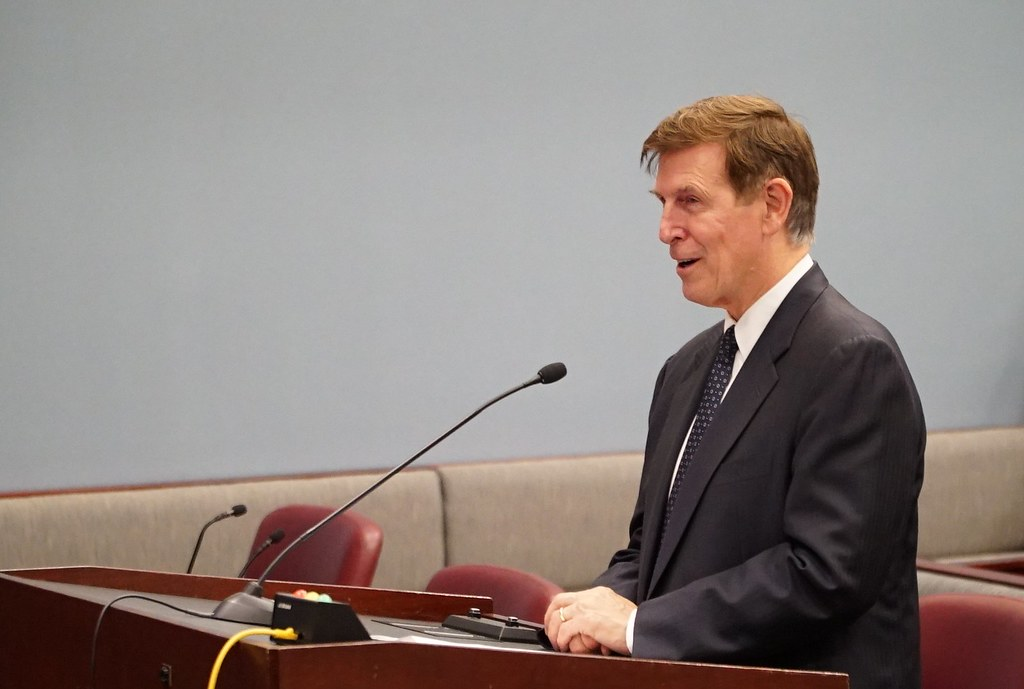 Rep. Don Beyer at County Board Meeting