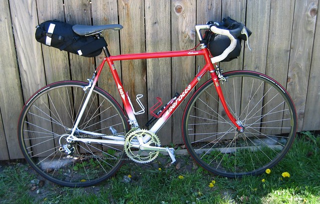 Serotta rigged for credit card touring