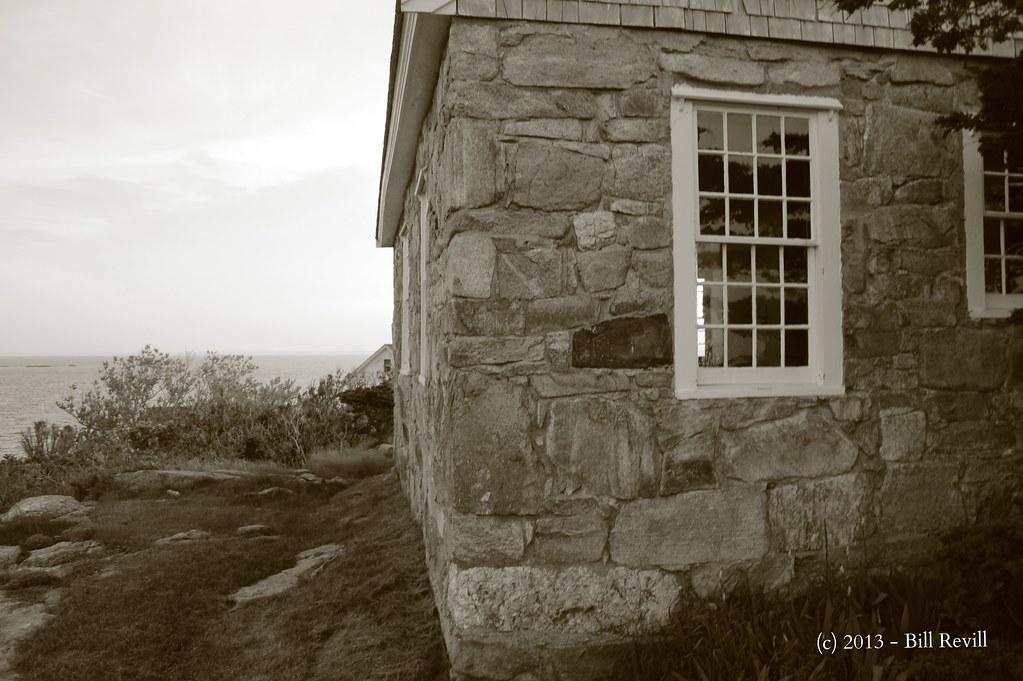 Star Island - side of chapel