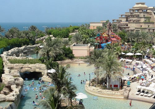 Aquaventure. The Atlantis, Dubai
