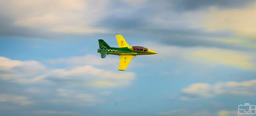 Viper Jet Green Flight Evento 3D y Jets Sobre Guatemala