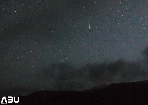 Early morning Perseid Meteor
