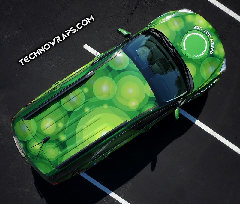 Chevy vehicle wrap by TechnoSigns in Orlando