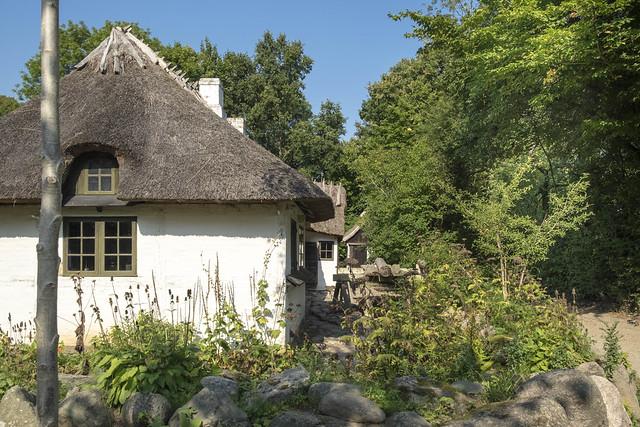 Frilandsmuseet-old farmhouse