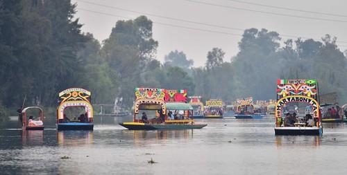americas canals colorfulboats cuemanco landscape mexico mexicocity trajineras xochimilco
