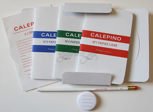 Calepino Goodies from Steve | by GourmetPens